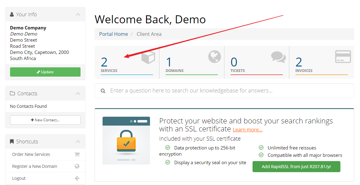 How do I access my cPanel control panel? - Knowledgebase